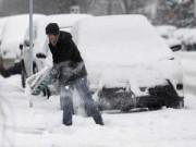 Tin quốc tế - Mỹ lại đông cứng vì bão tuyết