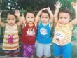 Ca sinh tư hiếm gặp lên 3 tuổi