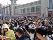 Tin tức - Người dân Trung Quốc hối hả trở lại thành phố sau Tết