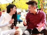 Làng sao - Ngô Kiến Huy đưa bạn gái 5 năm đi du xuân muộn