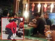Làng sao - Bố con Lý Á Bằng sang Thái ăn Tết, Vương Phi đi lễ bái