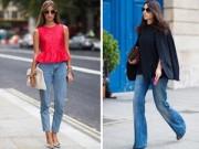 """Thời trang - Gợi ý từ những nàng công sở """"nghiện"""" mặc jeans"""