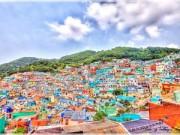 Ngắm để thèm - Rực rỡ ngôi làng ở Busan 'giàu' nhất Hàn Quốc