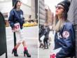 Thời trang - Chân dài Việt đua nhau tạo dáng trên phố New York
