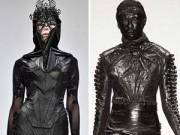 Thời trang - London FW: Choáng với dàn mẫu đen tuyền