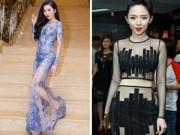 """Thời trang - Sao Việt vẫn say sưa với """"cuộc đua"""" váy xuyên thấu"""