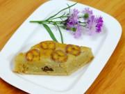 Bếp Eva - Bánh chuối cốt dừa nướng thơm ngon vô cùng