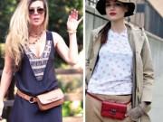Xu hướng thời trang - Túi đeo hông sẽ tạo nên cơn sốt mùa hè 2015