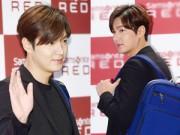 Làng sao - Lee Min Ho lộ mặt tròn quay đi sự kiện