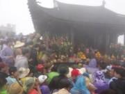 Tin tức - Hàng vạn người đổ về Yên Tử trước ngày khai hội