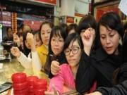 Tin tức - Chen nhau mua vàng lấy may ngày Vía Thần Tài