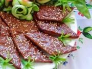 Bếp Eva - Thịt bò nướng vừng lạ miệng