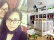 Làng sao - Phạm Ngọc Thạch khoe phòng của con trai sắp sinh