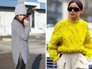 Thời trang - 2 kiểu áo len phải có trong mùa xuân