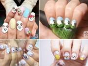 Làm đẹp - Những mẫu nail siêu đáng yêu cho bạn gái