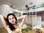 Nhà đẹp - Siêu mẫu Ngọc Thạch khoe phòng con trai sắp chào đời
