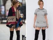 Thời trang - Sao Hollywood đi boots không cần quần