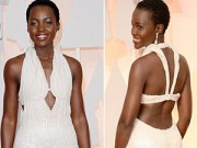Thời trang Sao - Váy mất cắp của Lupita Nyong'o được trả lại vì ngọc trai giả