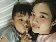 Làng sao - Bạn gái Ưng Hoàng Phúc khoe ảnh con trai 'bí mật'
