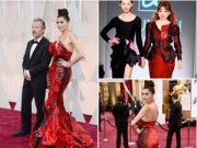 Thời trang - Sao Hollywood diện váy Quỳnh Paris trên thảm đỏ Oscar