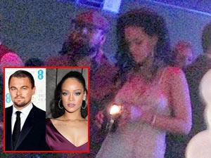 Lộ ảnh Rihanna và Leo DiCaprio đón sinh nhật bên nhau
