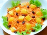 Thực đơn – Công thức - Salad cà rốt, cam cho nàng đẹp da, đẹp dáng