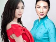 Mặc đẹp mỗi ngày - Hoa hậu VN khen chê đồng phục mới của Vietnam Airlines