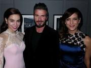 Hậu trường - David Beckham hào hứng khoe ảnh tái ngộ Hà Hồ