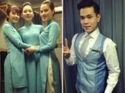 Thời trang - Tiếp viên Vietnam Airlines thích thú diện đồng phục mới