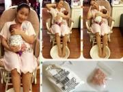 Sau sinh - Ốc Thanh Vân chia sẻ cách thư giãn sau sinh bằng muối