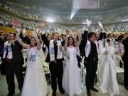 Eva Yêu - 3.800 cặp đôi trên thế giới đổ về Hàn Quốc cưới tập thể