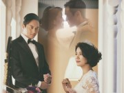 Làng sao - Cựu HH Hongkong chụp ảnh cưới sau 14 năm kết hôn