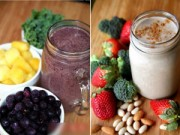 Làm đẹp - 10 loại sinh tố giảm cân có hiệu quả không ngờ