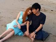 Hậu trường - Lilly Luta lãng mạn sánh đôi cùng Troy Lê tại Thái Lan