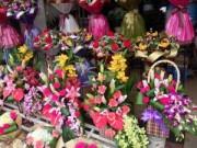 Mua sắm - Giá cả - Hoa hồng ngày 8/3 tăng giá gấp đôi