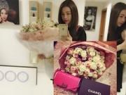 Làng sao - Trà Ngọc Hằng được bạn trai tặng quà trăm triệu ngày 8/3