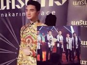 Làng sao - Mỹ nam thi chui đoạt giải Nam vương tại Mister Global 2015