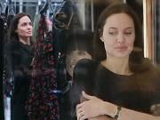 Làng sao - Angelina Jolie để mặt mộc đi mua sắm trong đêm