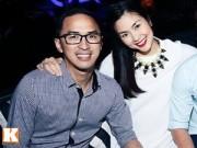 Làng sao - Vợ chồng Tăng Thanh Hà vui vẻ bên cạnh bạn bè