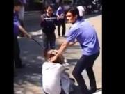 Tin tức - Xuất hiện video bảo vệ bệnh viện Quảng Ngãi đánh người