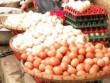 Mua sắm - Giá cả - Trứng tồn nhiều, giá giảm mạnh