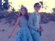 Làng sao - Châu Kiệt Luân tổ chức đám cưới lần ba trên bãi biển Úc