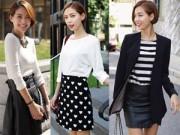 Thời trang - Mẹo hay giúp váy công sở bớt nhàm chán