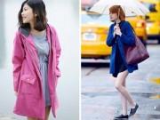Thời trang - Lựa chọn thời trang thông minh cho ngày mưa phùn