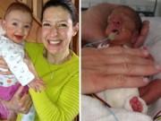 Bà bầu - Giây phút lâm bồn kinh hoàng của mẹ sinh non 23 tuần