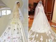 Thời trang Sao - Những bộ váy cưới đụng ý tưởng đình đám của sao Việt
