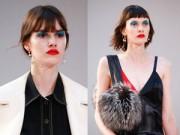 """Làm đẹp - Trào lưu """"mắt xanh mỏ đỏ"""" nở rộ tại Tuần lễ  thời trang Paris"""