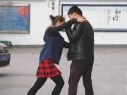 Tình yêu - Giới tính - Cho bạn gái tiền nâng ngực, bị tát ngay giữa phố