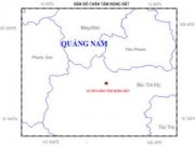 Tin tức - Quảng Nam: Động đất 2.9 độ richter ở huyện Bắc Trà My