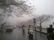 Tin trong nước - Cuối tuần Hà Nội giảm mưa, trời tiếp tục rét